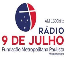 Ouvir agora Rádio 9 de Julho AM - São Paulo / SP