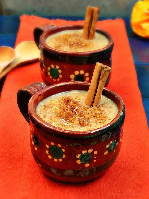 Pumpkin Spice Arroz con Leche - lacocinadeleslie.com