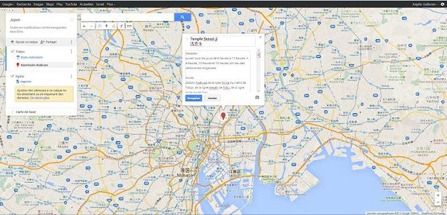 Editeur Google Maps