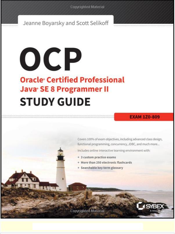 Ocp Java 8 Book
