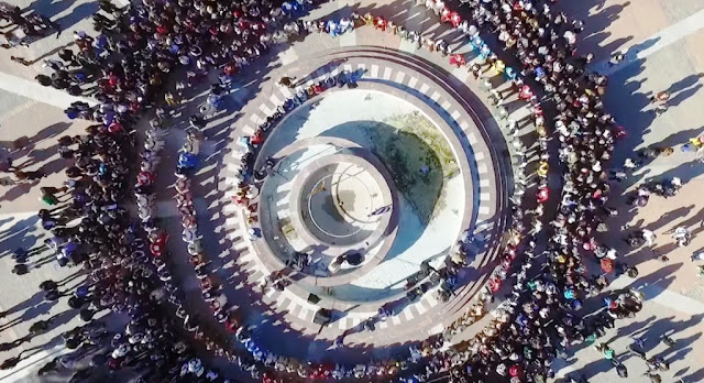 Εντυπωσιακή εικόνα Πόντιων χορευτών στη Χίο (Video)