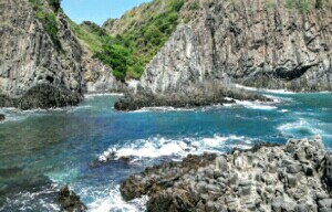 wisata pantai semeti lombok tengah
