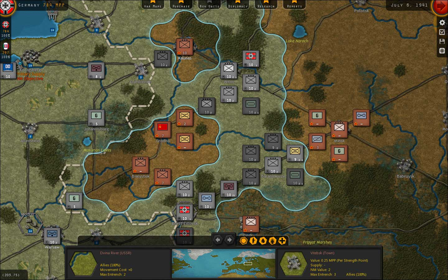 Real And Simulated Wars Strategic Command Wwii War In