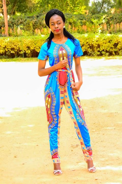 Ethnic Print Jumpsuit