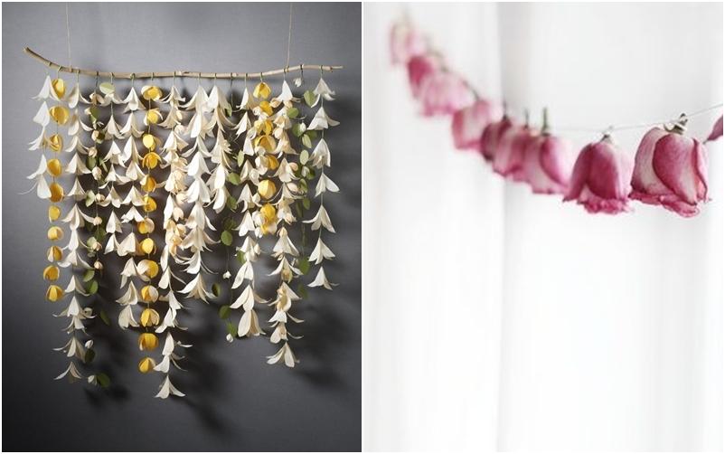 DIY: Guirnaldas de flores