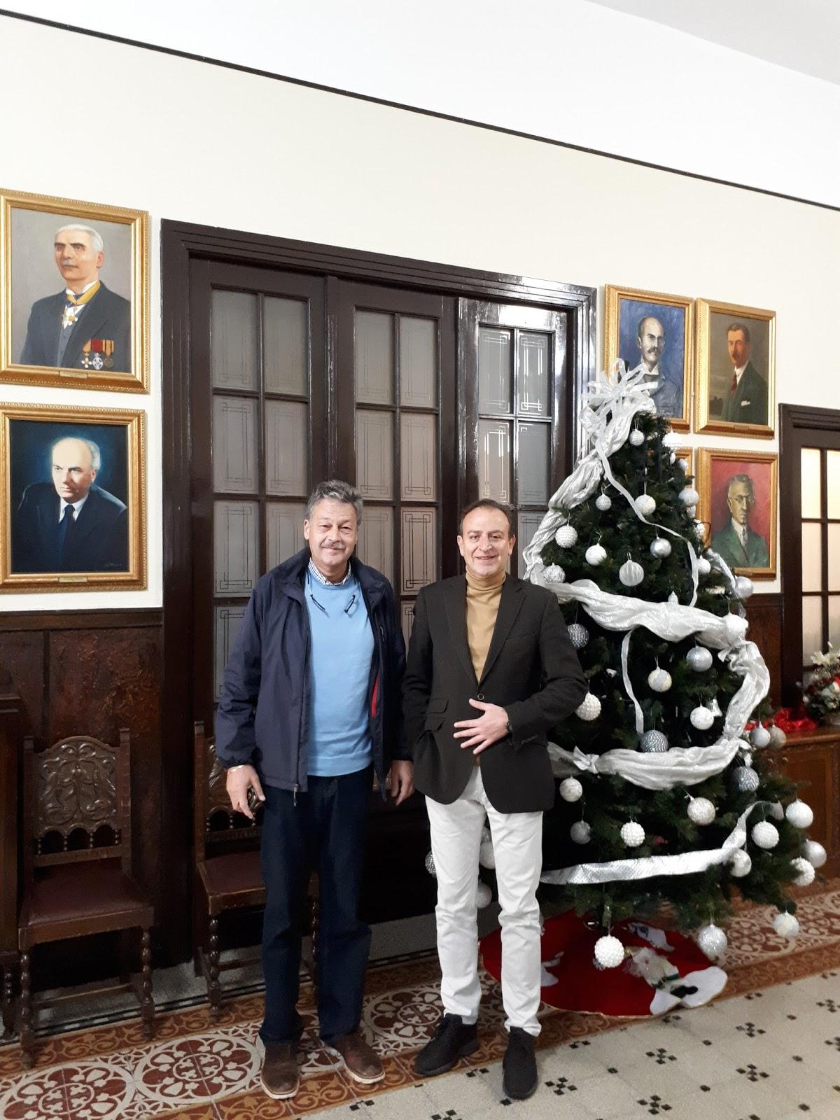 Ιωάννινα:Στο Δημαρχείο Ιωαννίνων ο Ελβετός Πρέσβης