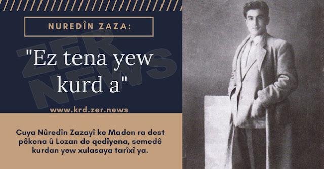 Nuredin Zaza Ez tena yew kurd a