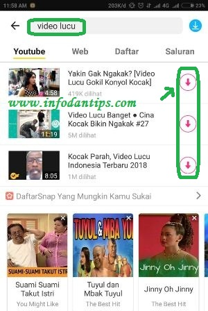 Cara Mudah Download Video Mp3 Youtube Di Android Dengan Snaptube