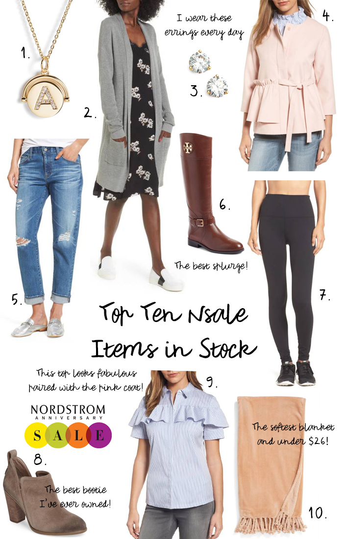 nordstrom anniversary sale 2017 top ten items in stock
