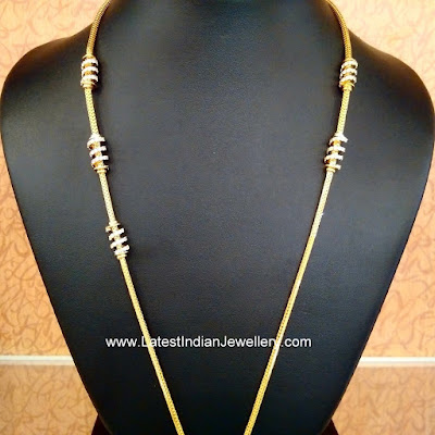 Thali Chains design with Mogappu