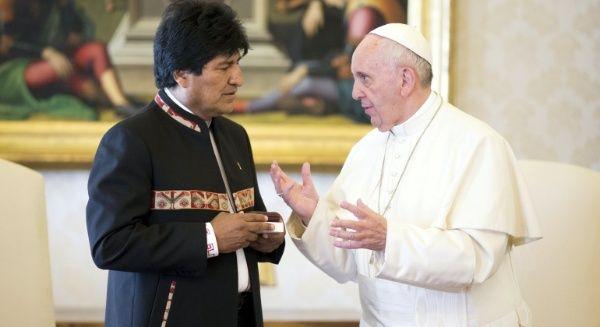 Evo Morales se reunirá con el papa en el Vaticano en diciembre