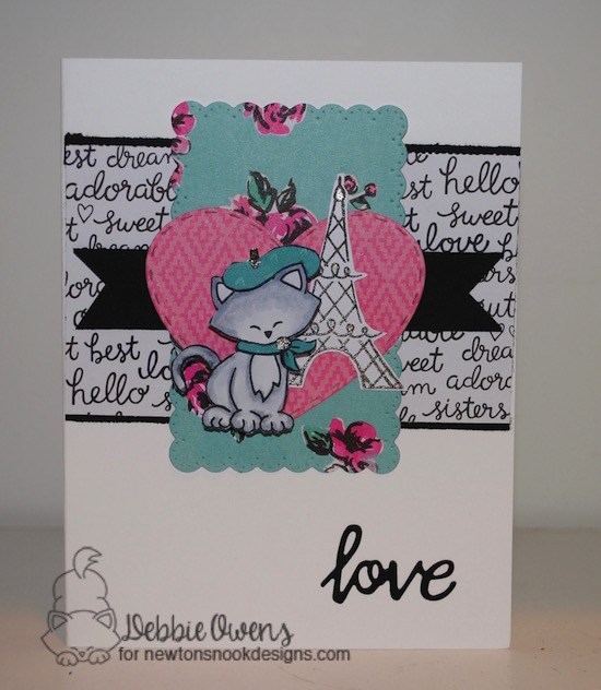 Love by Debbie features Newton Dreams of Paris by Newton's Nook Designs, #newtonsnook
