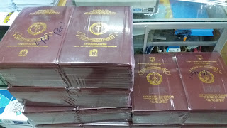 Jasa Cetak Map/Sampul Raport Sekolah, Ijazah, Sertifikat Murah di Jakarta 24 Jam