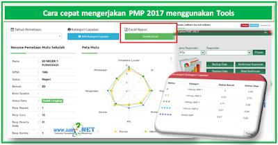 Cara cepat mengerjakan PMP 2017 menggunakan Tools