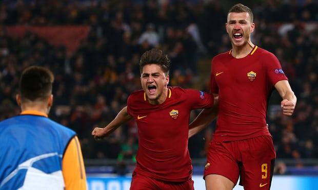 AS Roma Melaju ke 8 Besar Liga Champions 2017-2018
