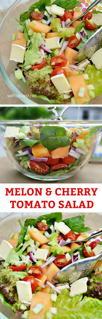 This refreshing Melon based salad comes together in a flash and is kid-friendly too