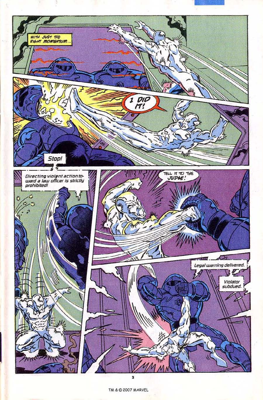 Read online Silver Surfer (1987) comic -  Issue #43 - 5