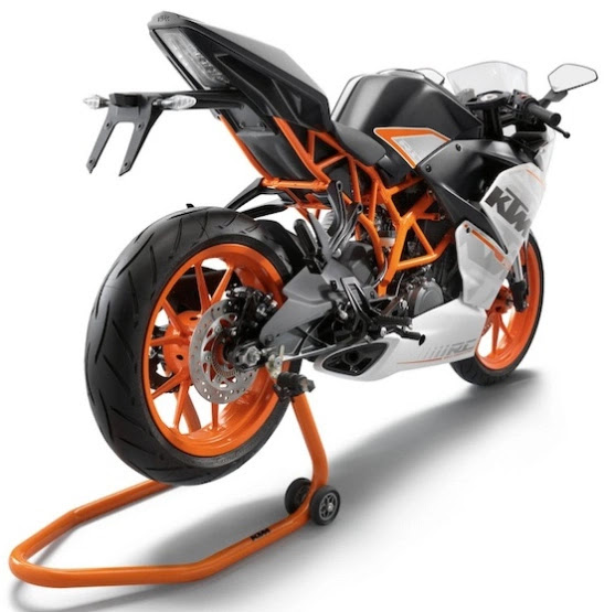 tail end of ktm rc 125