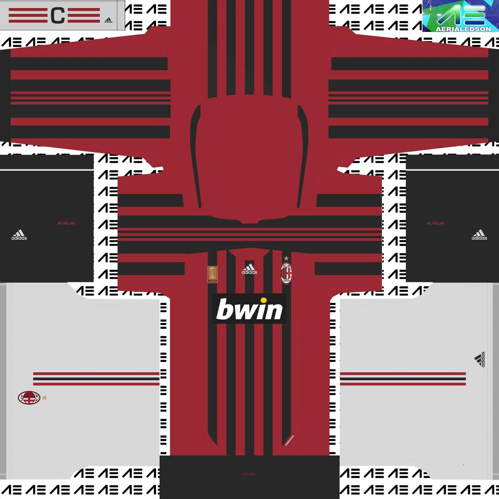 hot sales bd0ac 58799 Ac Milan Retro Kit – Galleria Immagini Immagini Club