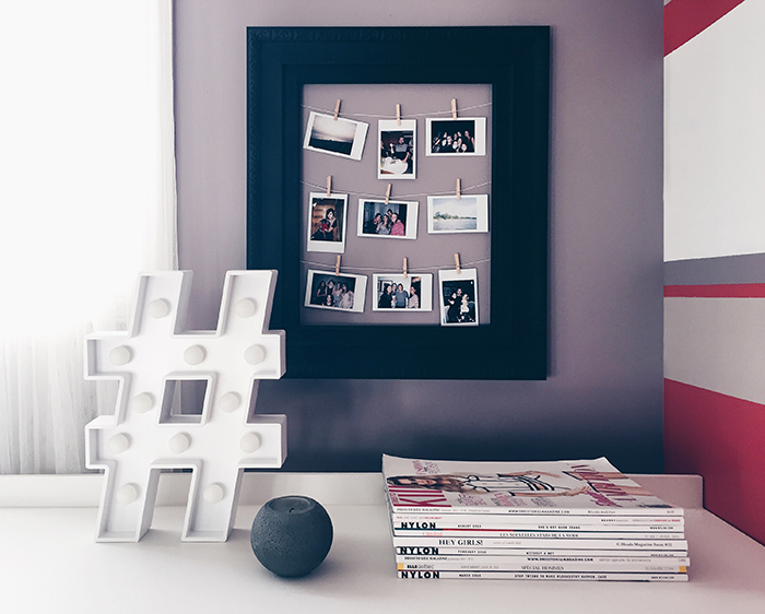 polaroids deco ideas