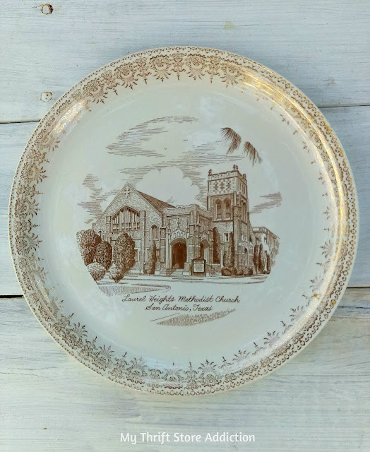 collectible church plate