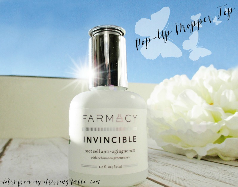 Farmacy Invincible Root Cell Anti-Aging Serum- Product Packaging Details - notesfrommydressingtable.com