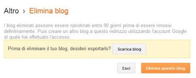 elimina blog