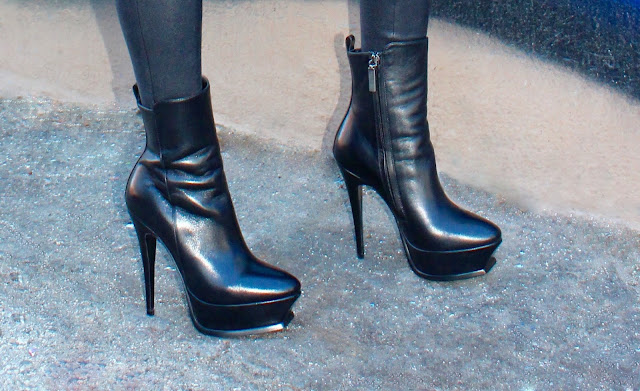 YSL black Tribute leather platform bootie stiletto boots Joanna Joy A Stylish Love Story fashion blogger California lifestyle blogger petite blogger