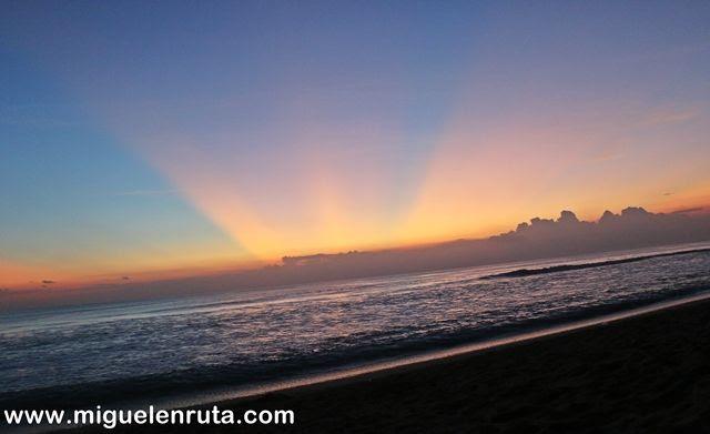 Colores-cielo-Pantai-Kuta-Bali