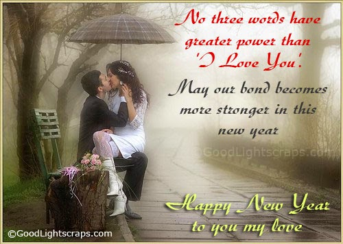 Romantic New Year Greetings  Love card for him her   New Year 2016     says something to your hearts and this below lovely greeting are surely  help you to wish your partner hear and give him   her romantic new year  wishes
