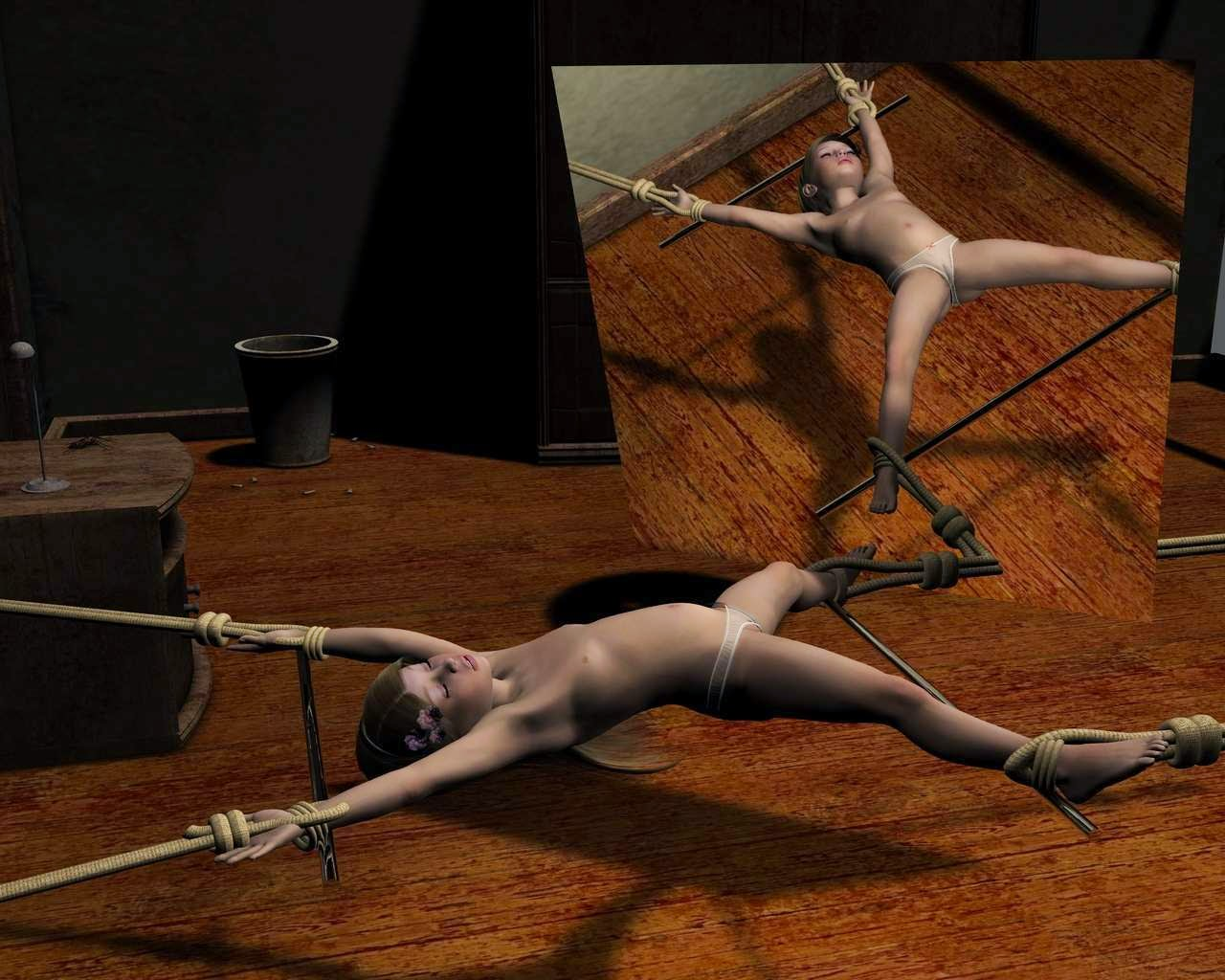 A bound angel is punished 5