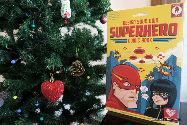 design your own superhero book