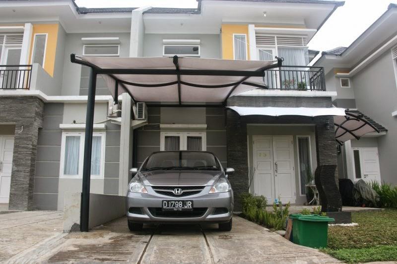 Ide Kanopi Garasi Motor di Rumah Minimalis