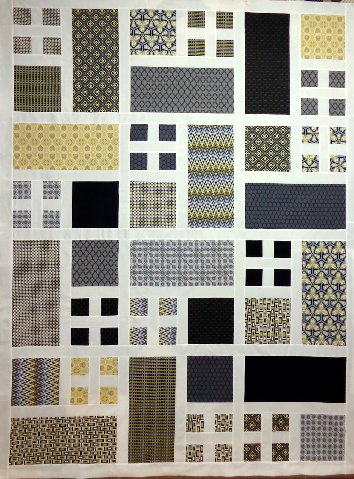 Cw Quilts Sometimes Easy Modern Quilt