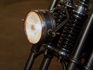 panster sportster by lc fabrications front light and fork