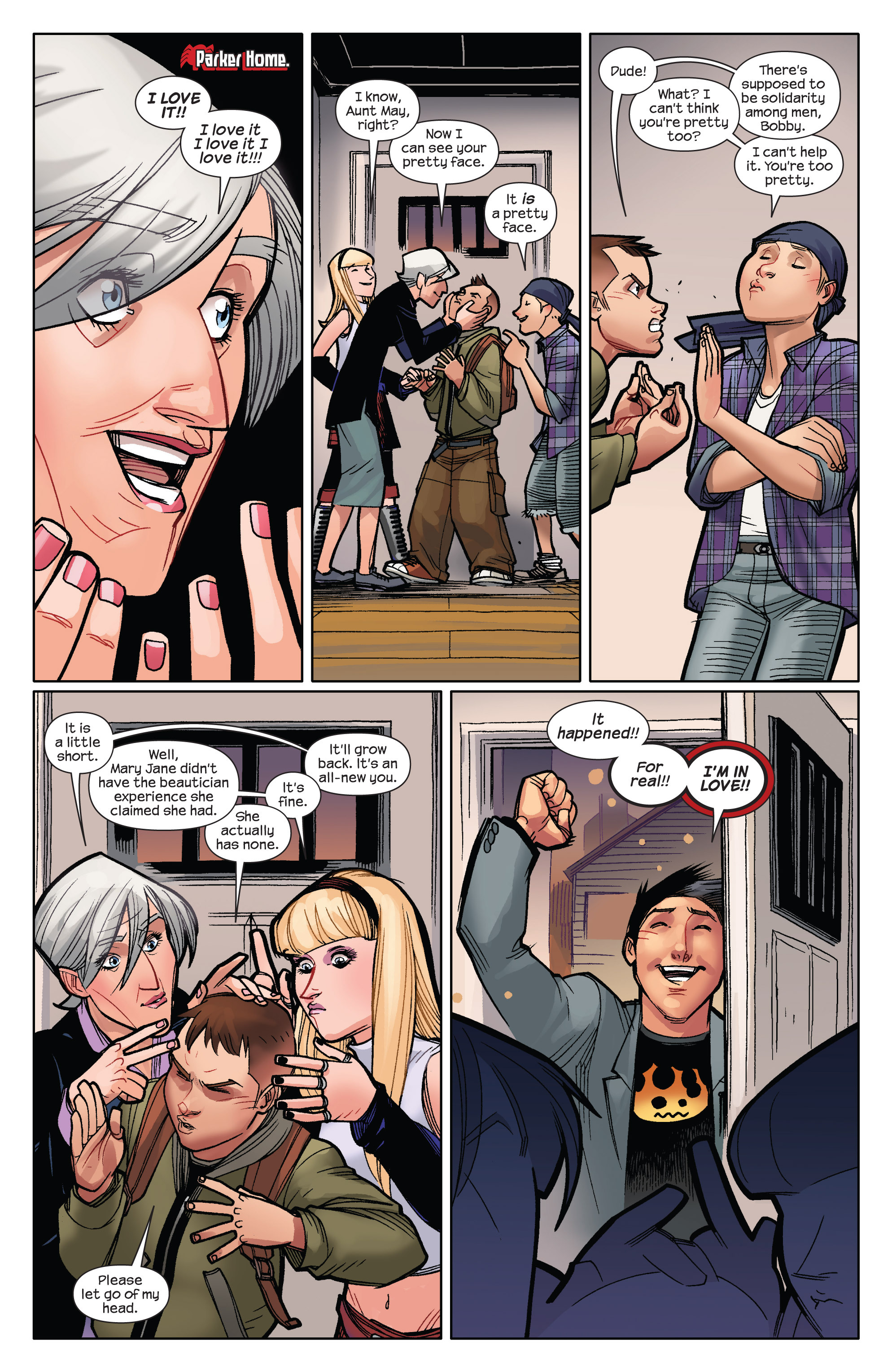 Read online Ultimate Spider-Man (2009) comic -  Issue #9 - 14