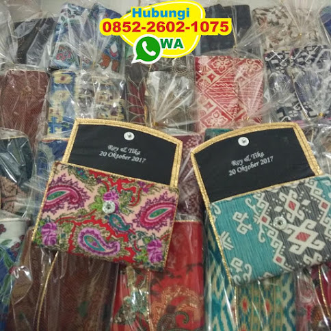 pabrik Dompet Batik simple harga grosir 50224