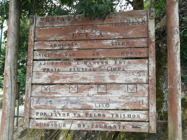 Placa Madeira Praia de Serpins
