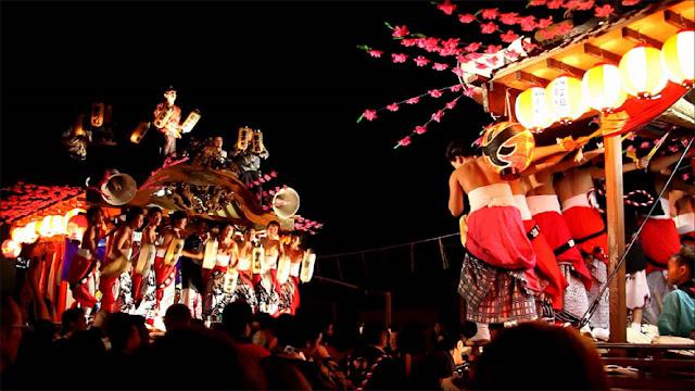 Autumn Festival at Tanagura Town, Shirakawa, Fukushima Pref.
