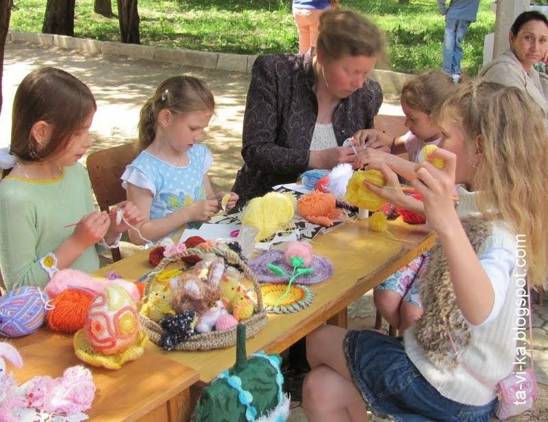 """фестиваль """"Мастерская чудес"""" в Детском парке Симферополя"""