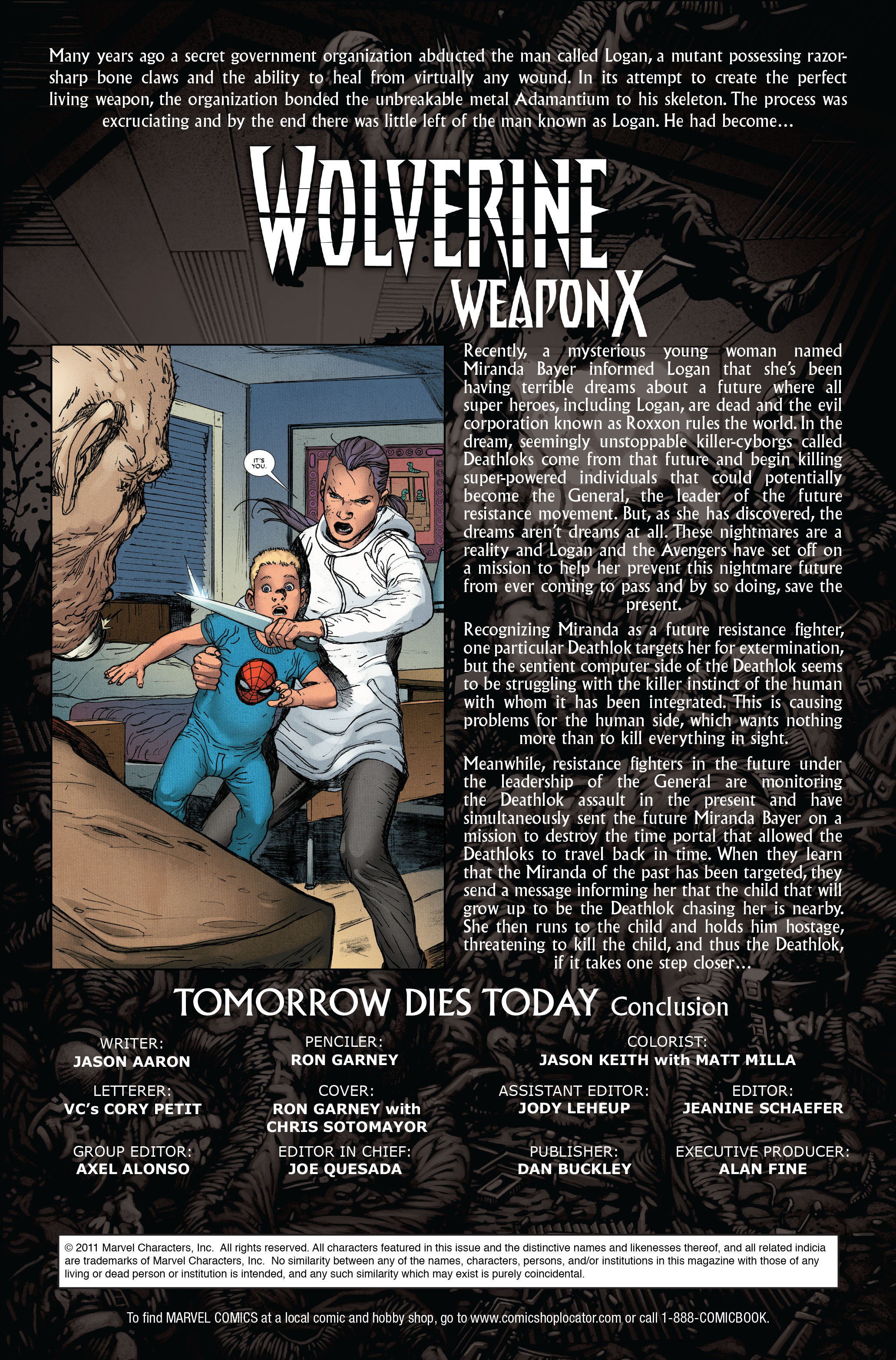 Read online Wolverine: Weapon X comic -  Issue #15 - 2