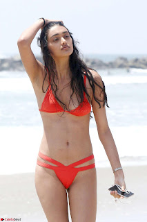 Neelam Gill in Red Bikini   10.jpg