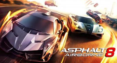 Asphalt 8: Airborne Apk v2.8.0n (Mega Mod)