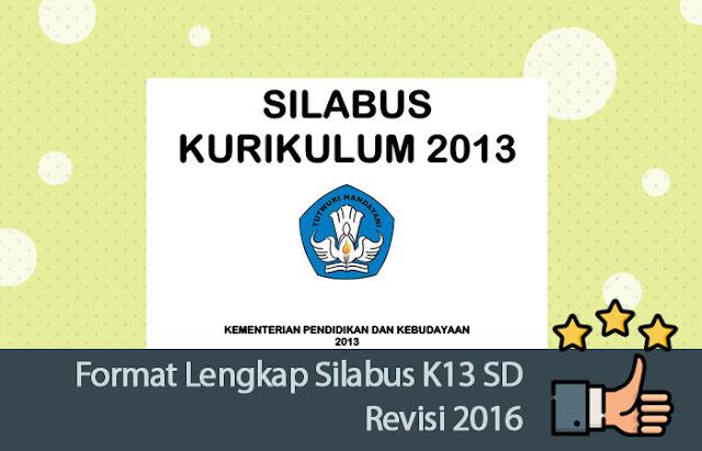 Silabus K13 SD