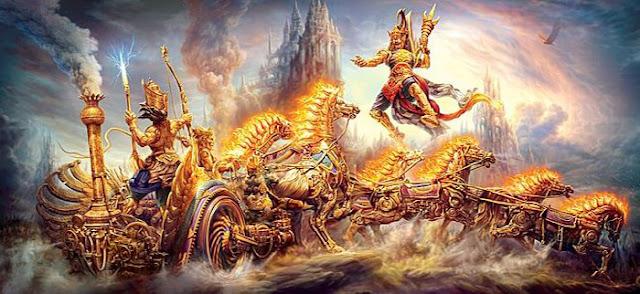 Guerra nuclear em tempos antigos - Vidros no deserto e textos hindus sagrados