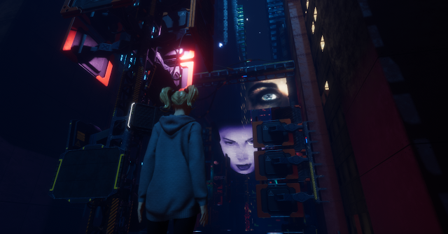 Sansar 2077 Cyberpunk \\ virtual annika - bigeyedkitteh