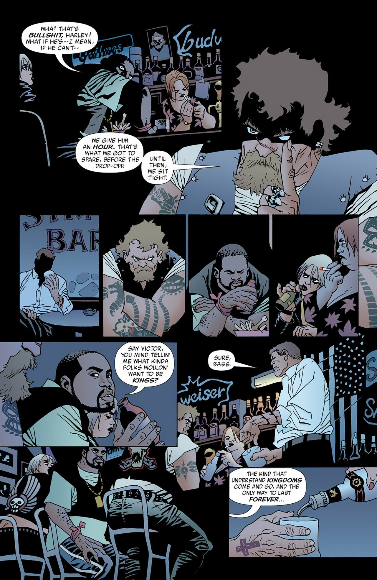 Read online 100 Bullets comic -  Issue #50 - 13
