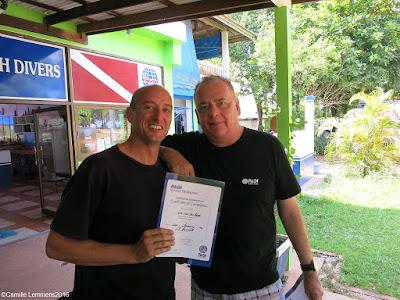 Testimonial by Kris of the January 2016 PADI IDC on Koh Lanta, Thailand