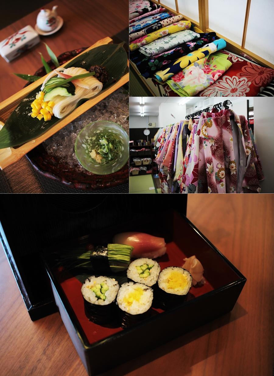 kimono lunch osaka hotel
