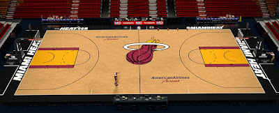 Miami Heat Court 2013-14